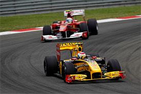 Vitaly Petrov, Fernando Alonso, Turkish GP