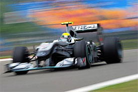 Nico Rosberg, Mercedes, Turkish GP