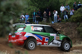 Guy Wilks, Skoda UK, Sardinia 2010