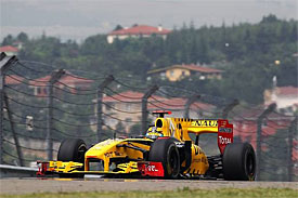 Robert Kubica, Renault, Turkish GP