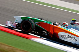 Vitantonio Liuzzi, Force India, Turkish GP