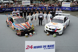 BMW Le Mans line-up