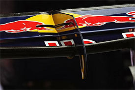 Red Bull rear wing