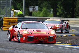 Risi Competizione's car, Le Mans