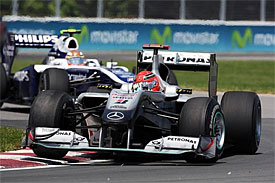 Michael Schumacher, Mercedes, Canadian GP