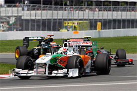 Tonio Liuzzi, Force India, Canadian GP