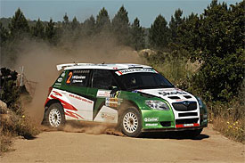 Juho Hanninen during Rally d'Italia Sardegna