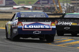Jimmie Johnson, Hendrick Chevrolet, Sears Point 2010