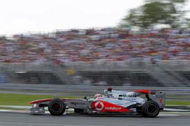 Jenson Button, McLaren, Montreal 2010