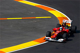 Fernando Alonso, Ferrari, European GP