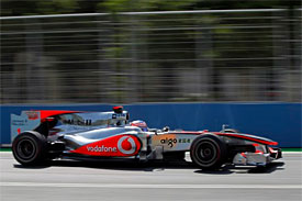 Jenson Button, McLaren, European GP