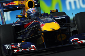 Sebastian Vettel, Red Bull, Valencia 2010