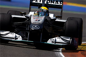 Nico Rosberg, Mercedes, European GP