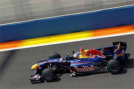 Sebastian Vettel, Red Bull, European GP