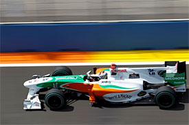 Adrian Sutil, Force India, European GP