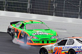 Danica Patrick, Nationwide, Loudon 2010