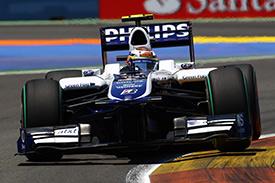 A good weekend for Williams so far