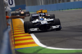 Rubens Barrichello, Williams, Valencia 2010