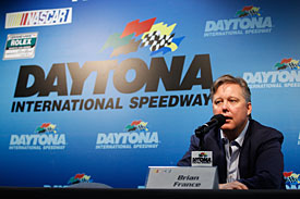 NASCAR chairman and CEO Brian France at Daytona, 2010