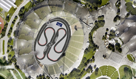 Munich Stadium DTM plan