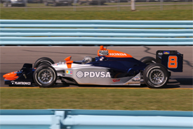 EJ Viso, KV, Watkins Glen practice