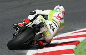 Aleix Espargaro, Pramac Ducati, Catalunya 2010