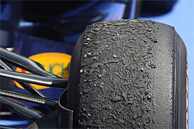 F1 tyre