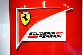 Ferrari's new logo