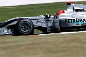 Michael Schumacher, Mercedes, British GP