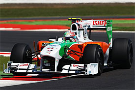 Tonio Liuzzi, Force India, British GP