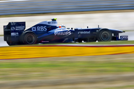 Nico Hulkenberg, Williams, Silverstone 2010