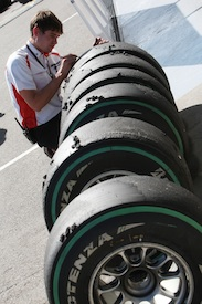 Bridgestone is concerned about tyres overheating