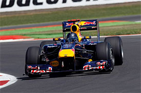 Sebastian Vettel, Red Bull, British GP