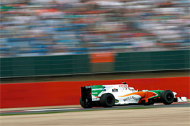 Adrian Sutil, Force India, British GP