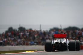 Jenson Button, McLaren, Silverstone 2010