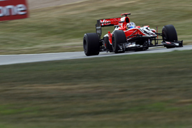 Timo Glock, Virgin, Silverstone 2010