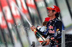 Mark Webber, Red Bull, British GP