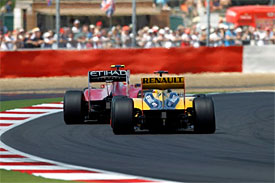 Fernando Alonso, Robert Kubica, British Grand Prix