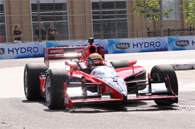 Justin Wilson, Dreyer &amp; Reinbold, Toronto practice 2010