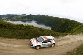 Bruno Magalhaes, Peugeot Portugal, Azores 2010