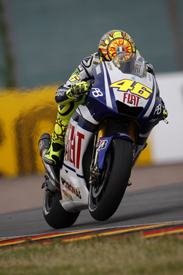 Valentino Rossi, Yamaha, Sachsenring 2010