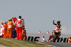 Dani Pedrosa wins in Germany
