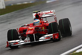 Fernando Alonso, Ferrari, German GP