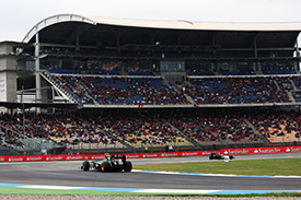Hockenheim welcomes Formula 1 for the first time since 2008