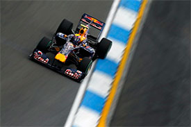 Mark Webber, Red Bull, German GP