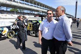 Ron Dennis at Indianapolis