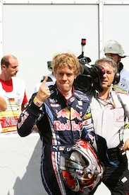 Vettel is happy to be number one again