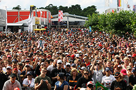 Fans pack into Hockenheim