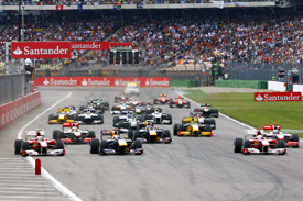 German Grand Prix start