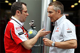 Stefano Domenicali, Martin Whitmarsh